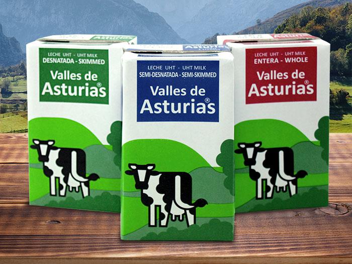 leche asturiana valles de asturias