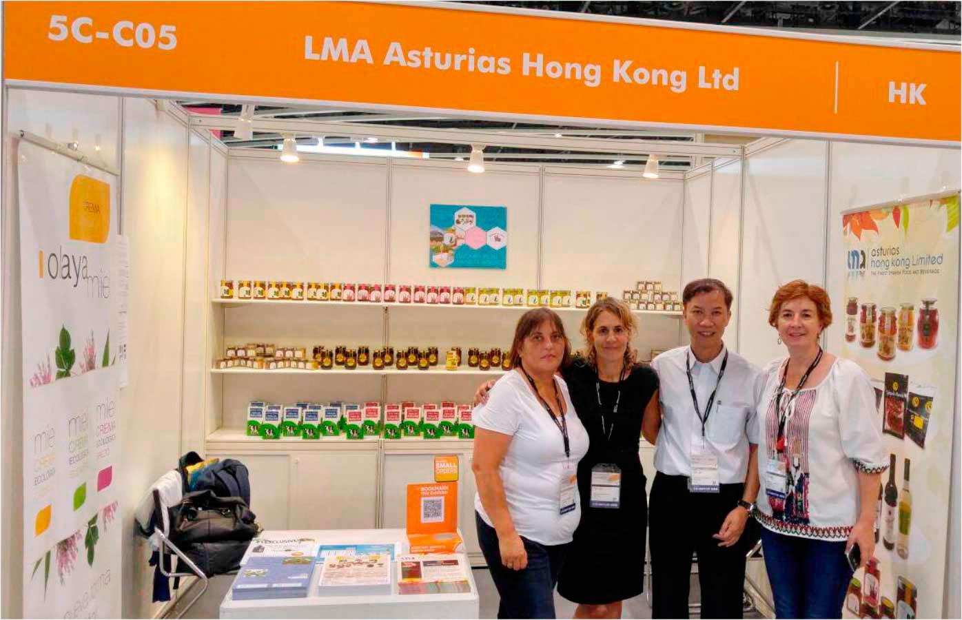 lma asturias hong kong - exportación de productos asturianos en china