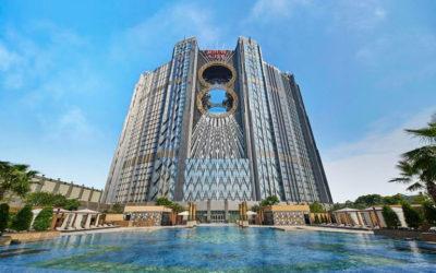Presentación Leo Honey y Matea Pollen en el Hotel Studio City (Macao)